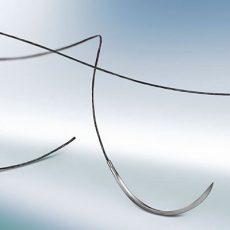 Supramid fekete 4/0 (1,5) 75 cm DS19 tűvel